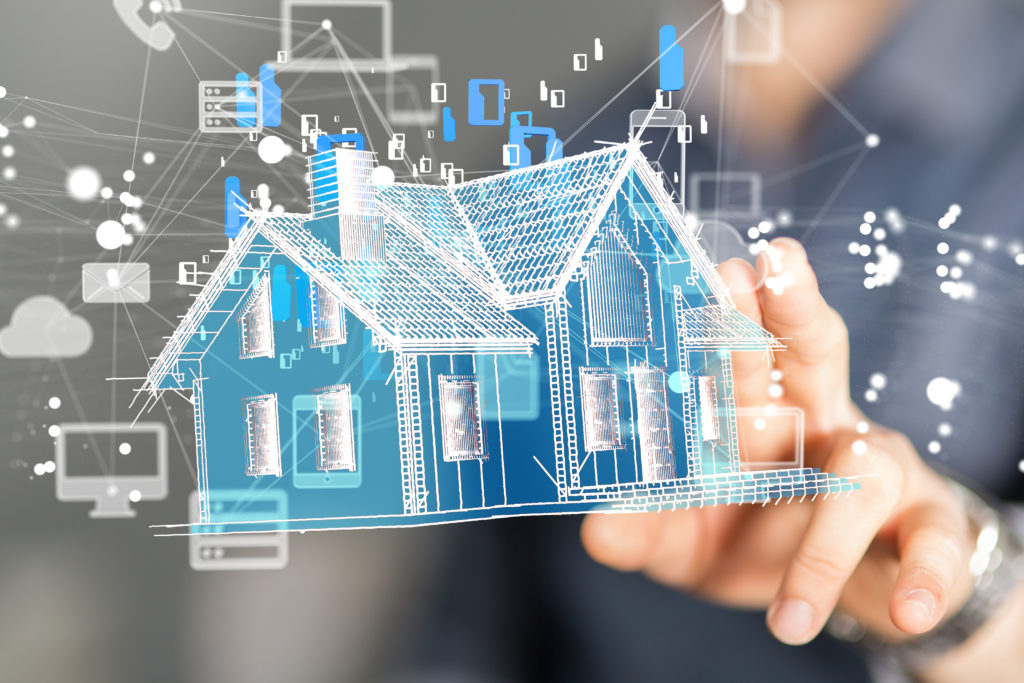 smart home connected