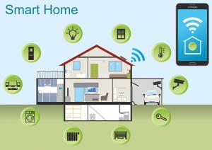 slimme apparaten in huis