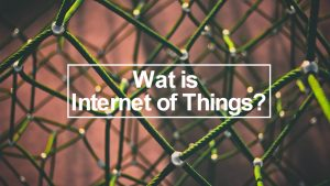 wat is iot