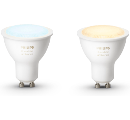 slimme philips hue lamp